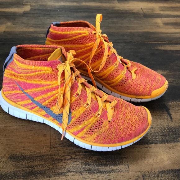 Nike Shoes Gratis Flyknit Chukka EucPoshmark Gratis Flyknit Chukka High Top Sz 7 Euc Poshmark